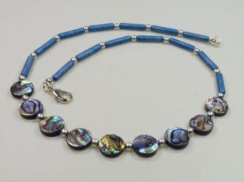 Halskette mit Seeopal