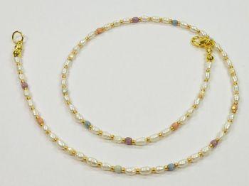 Superzarte Perlenkette