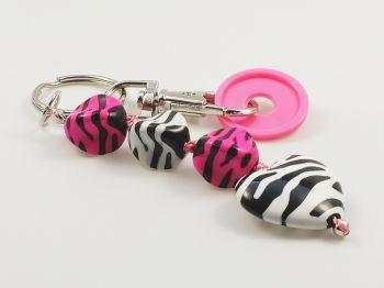 Schlüsselanhänger mit Zebrastreifen