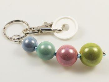 Schlüsselanhänger mit Miracle-Perlen