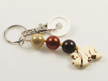 Schlüsselanhänger mit Nilpferd